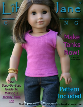 … who would love some new clothes for her American Girl doll