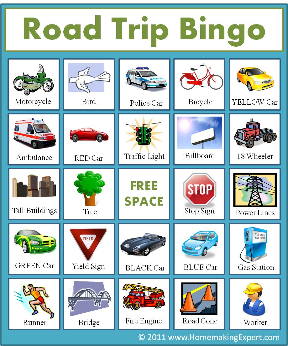 This is a picture of Gargantuan Printable Travel Bingo